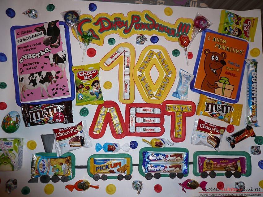 Плакаты с днем рождения своими руками 13 лет